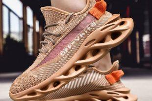 Shoes- Kaaum Plus Size Men's Super Comfy Mesh Jogging Sneake