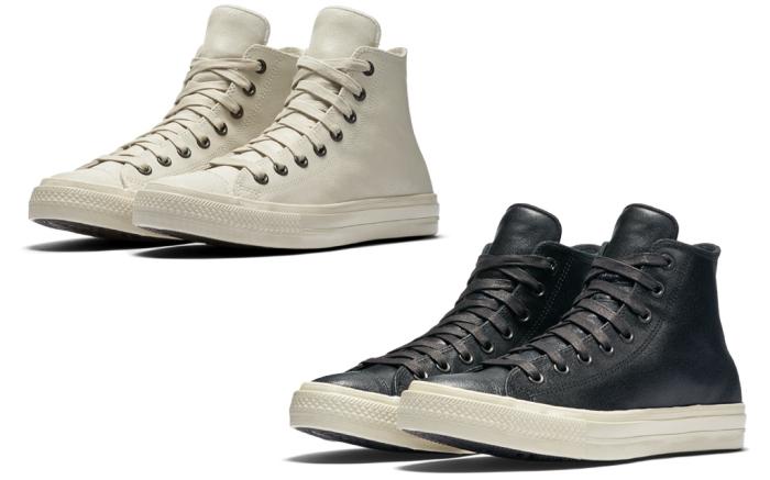 Converse & John Varvatos Collaborate On Coated-Leather Kicks .