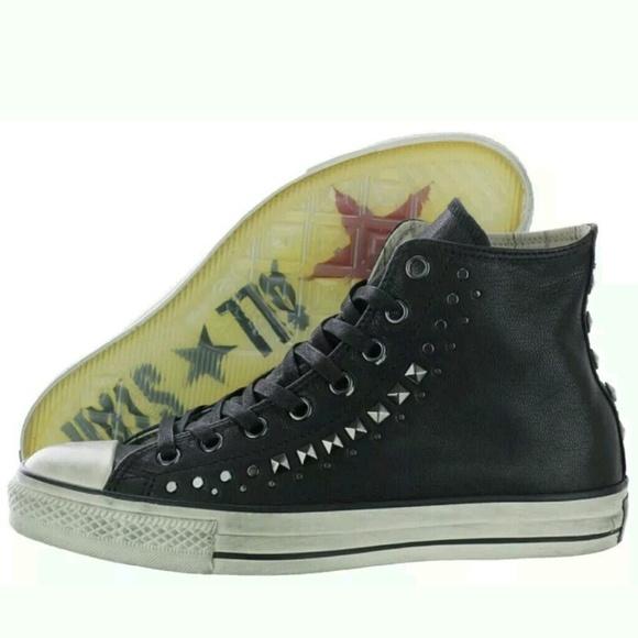 Converse Shoes | Chuck Taylor John Varvatos Leather Black | Poshma