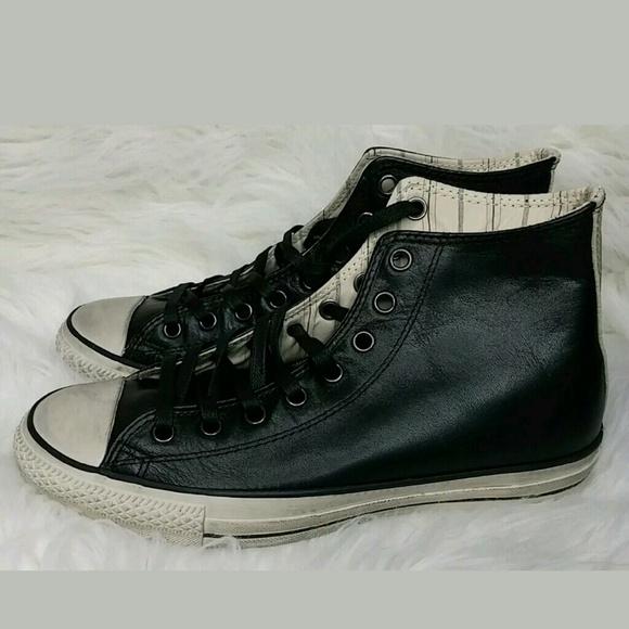 Converse Shoes | X John Varvatos Burnished Hi Top Leather | Poshma