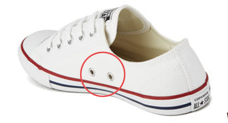 Ever Wondered What The Two Extra Holes On The Side Of Converse .