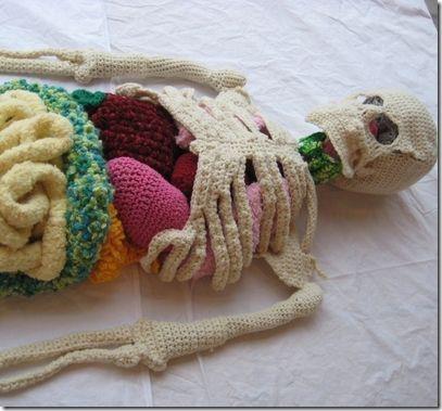 Crochet Skeleton ~ Cool Crafts for Kids, Biology University .