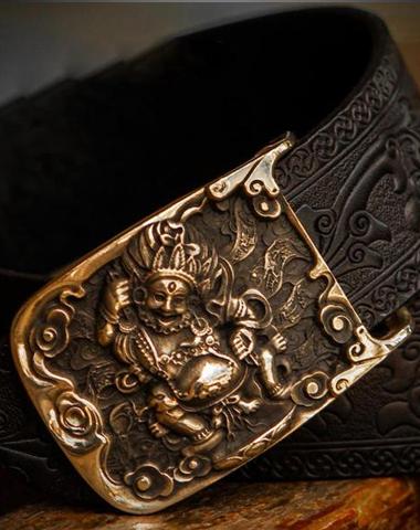 Handmade Cool Black Leather Mens Belts Custom Leather Men Belt for M