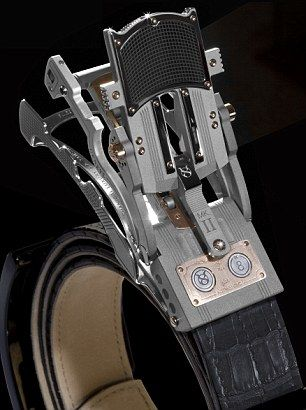 The amazing belt buckle that expands with your waistline as you .