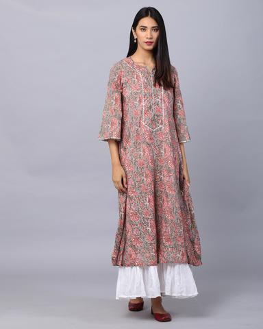 Ethnic Indian Cotton Dresses | Cotton Western Dresses Ind