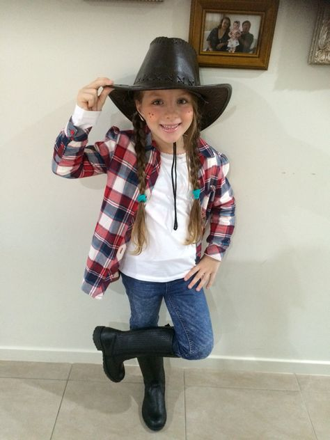 Cow girl, cow girl outfit, cow girl costume, school free, kids .