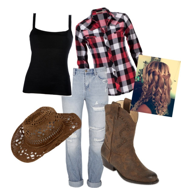 Cowgirl Outfit | Cowgirl outfits, Country girls outfits, Cute .