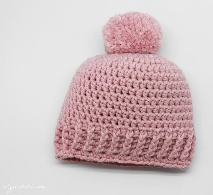 Crochet a baby hat - Free Pattern - Yarnplaza.com   For knitting .