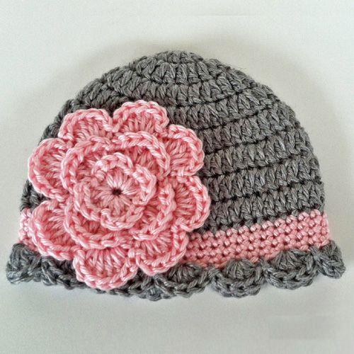 Crochet Baby Hats Pretty Baby Beanie - Free Pattern (Crochet For .