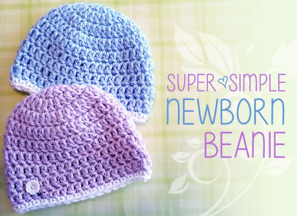 Newborn Charity Hat Crochet Pattern   Little Monkeys Crochet .