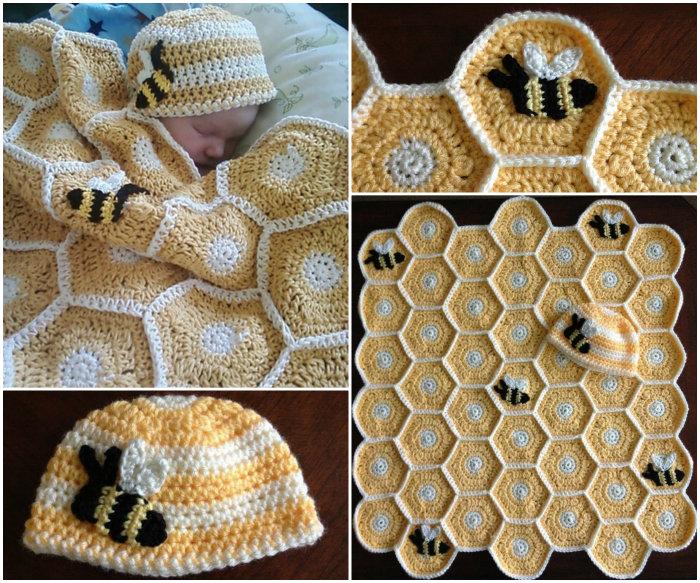 Crochet Baby Blanket For Babies