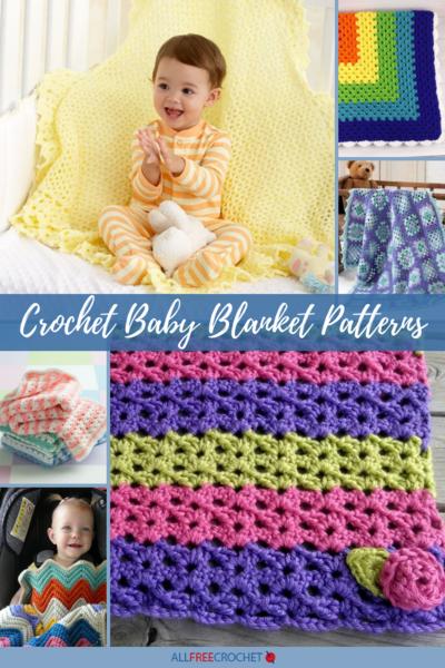 50+ Crochet Baby Blanket Patterns | AllFreeCrochet.c