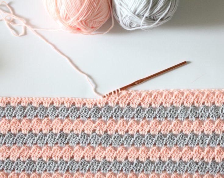 25 Crochet Baby Blanket Patterns for Spring | Daisy Farm Craf