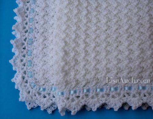 Little Clouds Baby Blanket ~ FREE Crochet Patte