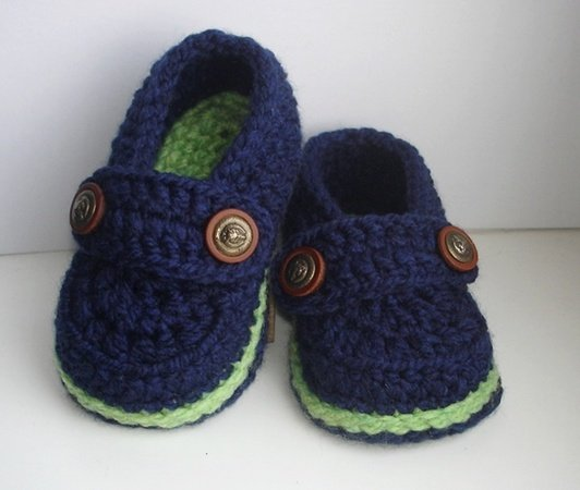 Easy Crochet Pattern Baby Loafers, Baby Booties, Crochet Booty for .