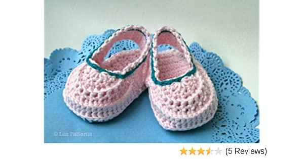 Crochet book baby boots pattern, crochet baby clogs pattern .