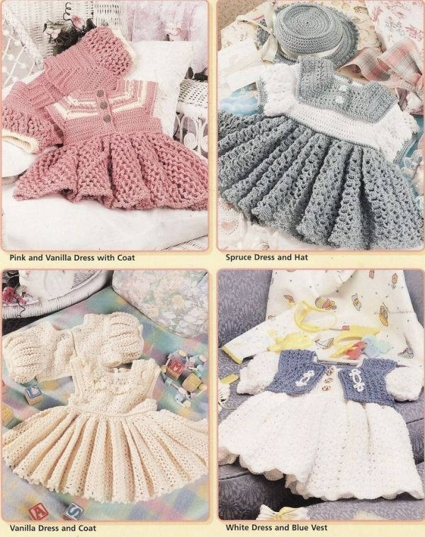 Free Crochet Baby Dress Patterns | CROCHET DRESS PATTERN TOP .