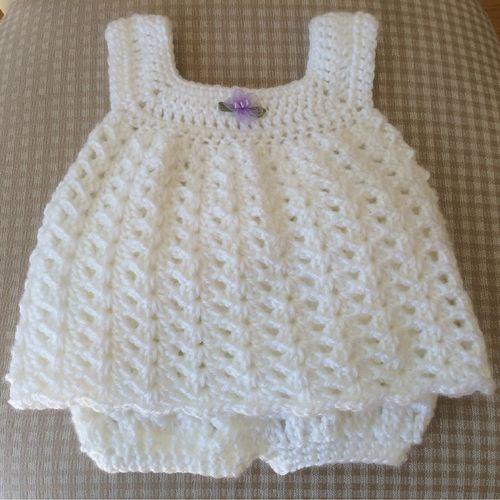 Easy Baby Sun Dress - Free Pattern (Crochet For Children .