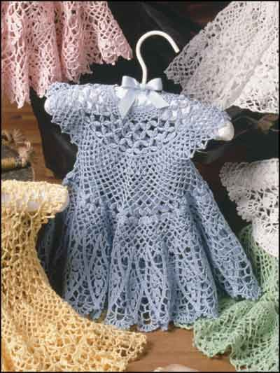 free pattern for crochet ruffle scarf | RUFFLED CROCHET BABY DRESS .