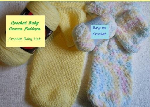 Free Crochet Baby Cocoon Patter