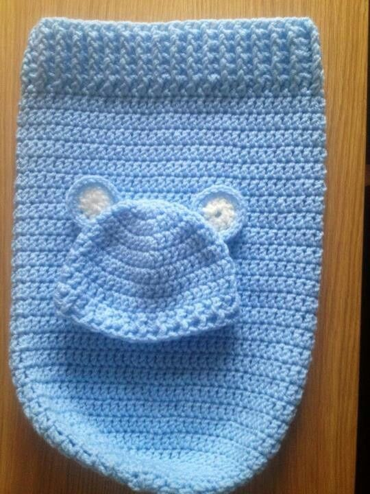 crochet baby cocoon free pattern | Baby cocoon maybe do in a brown .