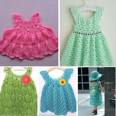 24 Free Crochet Baby Dress Patterns | Crochet baby dress pattern .