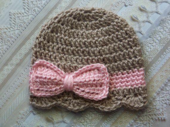 Crochet Baby Hats Crochet Baby Hat Newborn Baby Girl hat Baby by .