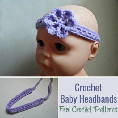 Crochet Baby Headband Patter