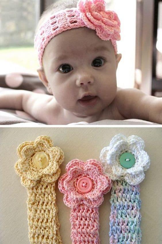 Crochet Baby Headband Patterns and Easy Video Tutori