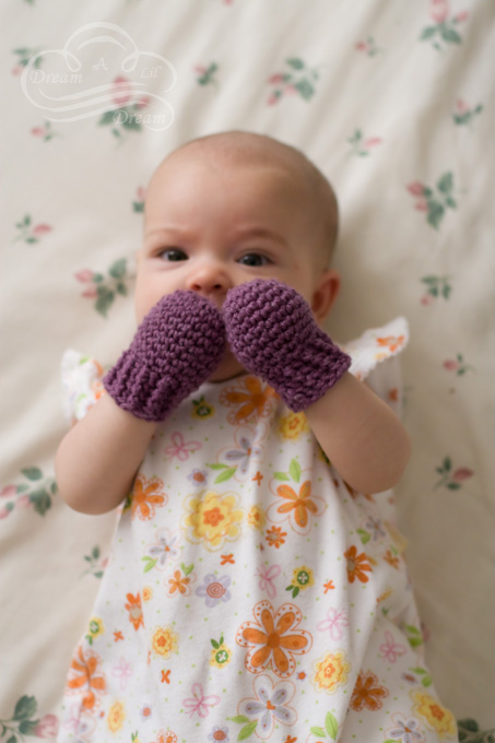 Crocheted Baby Mittens - Dream A Lil Dre