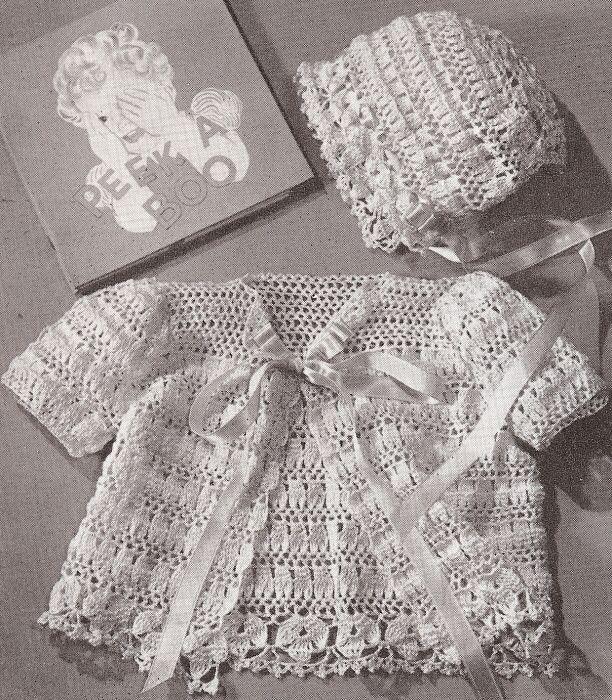 free Vintage Crochet Baby Layette Set | Vintage Thread Crochet .