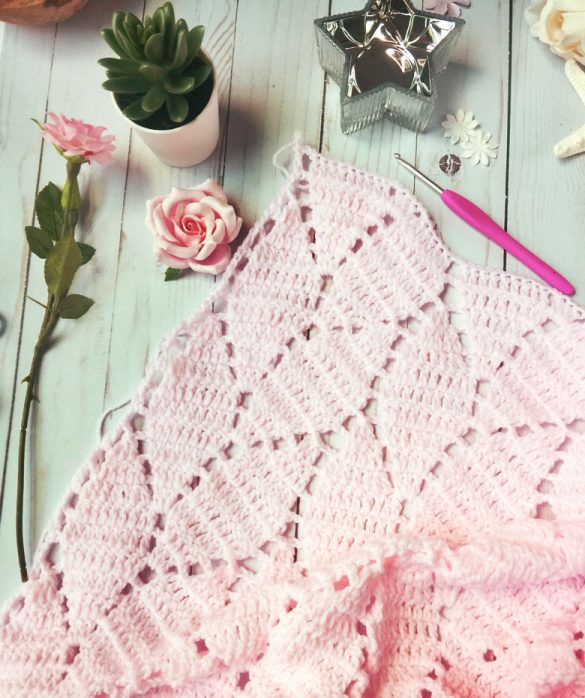 free crochet baby blanket patterns Archives - Craft-Ma