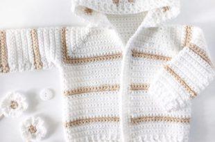Single Crochet Baby Sweat