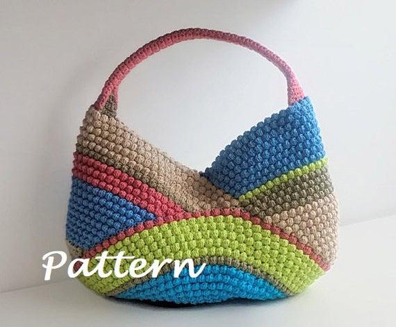 CROCHET PATTERN Crochet Bag Pattern Tote Pattern crochet purse | Et