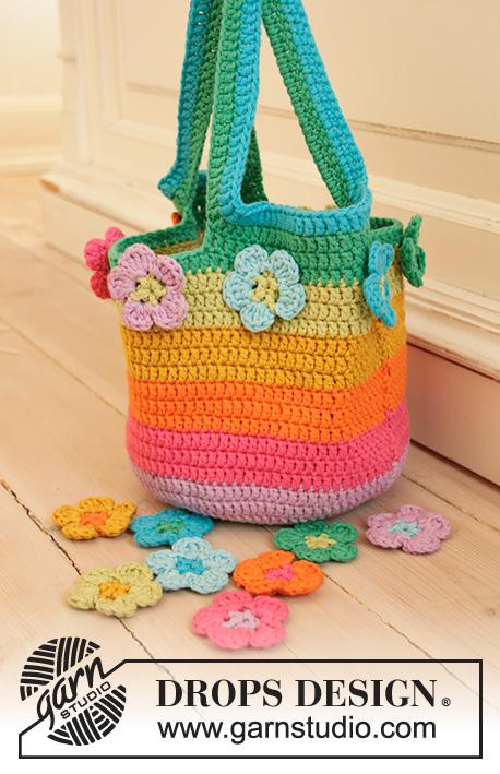 flower crochet bag patterns Archives ⋆ Crochet Kingdom (22 free .