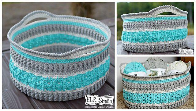 10 Free Crochet Basket Patter
