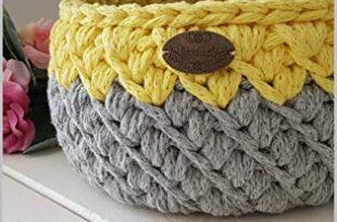 Crochet basket pattern: Honey b basket (Home decor Book 1 .