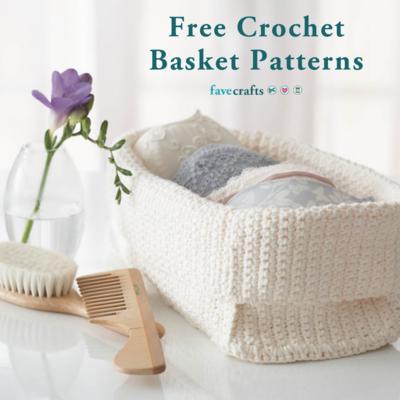 41 Free Crochet Basket Patterns | FaveCrafts.c