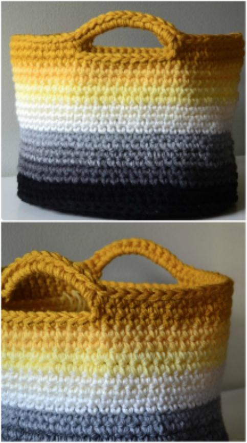 Crochet Storage Baskets Free Patterns | The WHO
