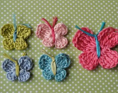 35+ Free Crochet Butterfly Patterns   AllFreeCrochet.c