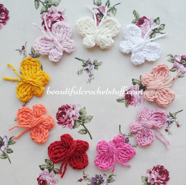 Crochet Butterfly Free Pattern   Beautiful Crochet Stu