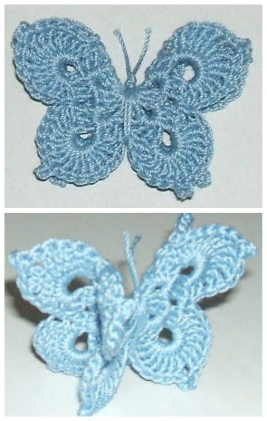 You'll Love These Crochet Butterflies   The WHO