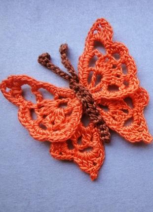 Crochet Butterfly Pattern ⋆ Crochet Kingd