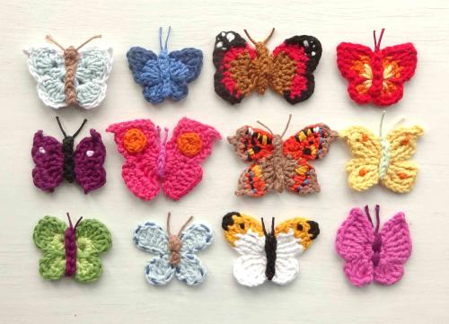 Attic24: Crochet Butterfli