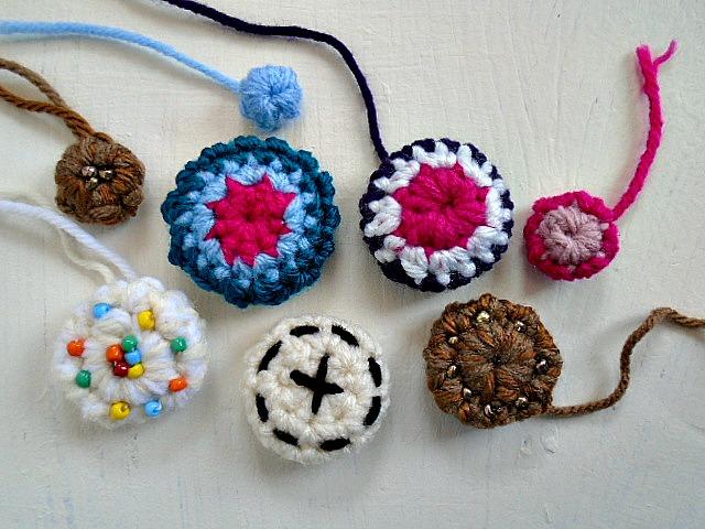 My Hobby Is Crochet: Crochet Buttons   Free Crochet Pattern .