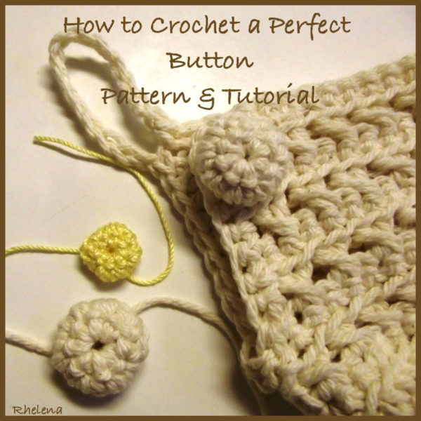 Crochet Button ~ FREE Crochet Patte
