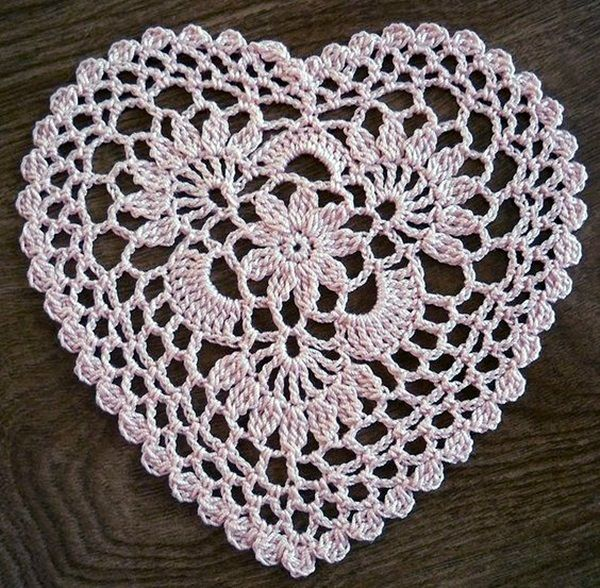40 Pretty and Easy Crochet Doily for Beginners | Doily patterns .