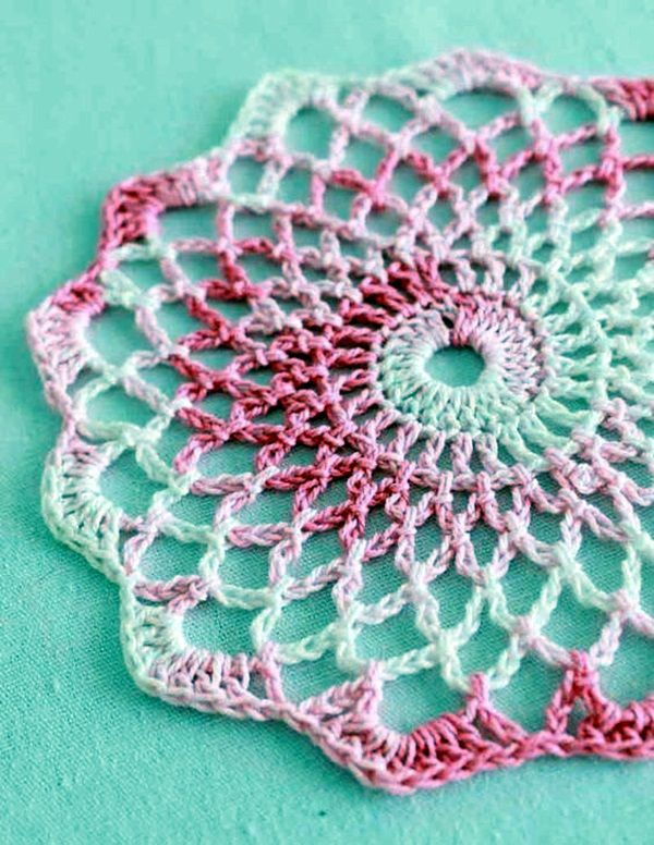 40 Pretty and Easy Crochet Doily for Beginners | Free crochet .