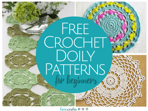 14 Free Crochet Doily Patterns for Beginners | FaveCrafts.c