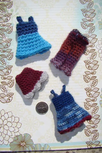 How to make wee crochet clothes | Doll clothes tutorial, Crochet .